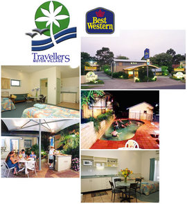 Travellers Motor Village Logo and Images