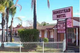 The Homestead Motor Inn Logo and Images