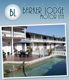 Barker Lodge Motor Inn Logo and Images