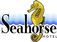 Seahorse Motel Logo and Images