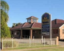 Best Western Plus All Settlers Motor Inn Logo and Images