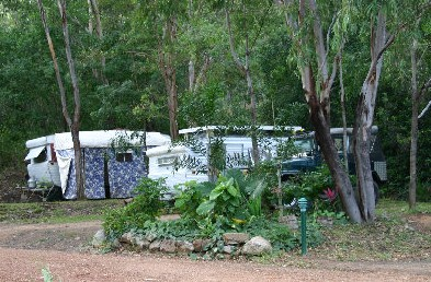 Cooktown Caravan Park Logo and Images