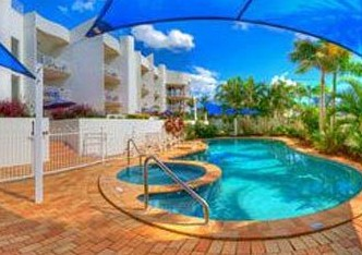 Kirra Palms Holiday Apartments Logo and Images