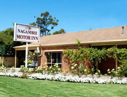 Nagambie Motor Inn Logo and Images