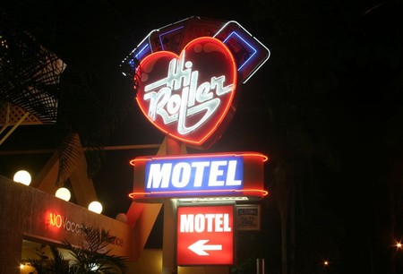 Hi Roller Motel Logo and Images