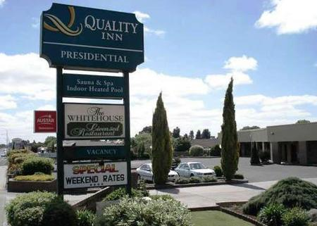 Quality Inn Presidential Logo and Images