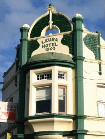 Leura Hotel Logo and Images