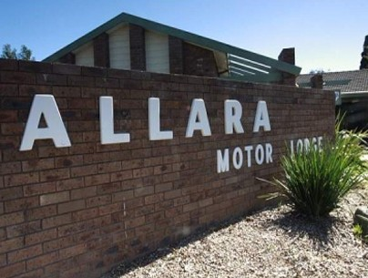 Allara Motor Lodge Logo and Images