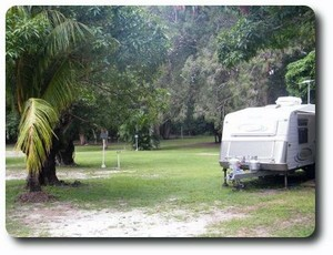 Peninsula Caravan Park Logo and Images