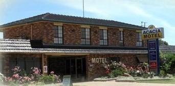 Acacia Motel Logo and Images