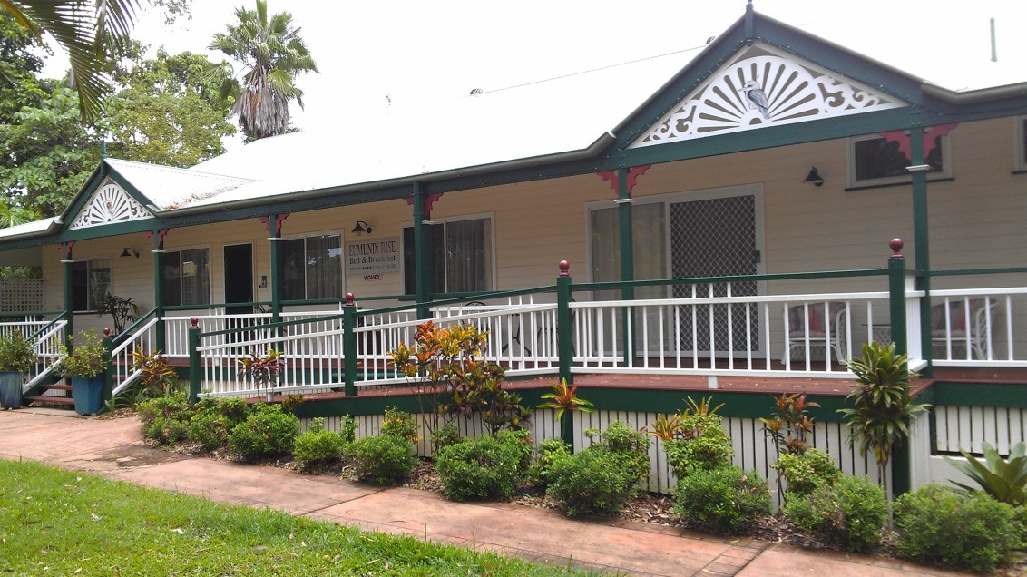 Eumundi Rise Bed And Breakfast Logo and Images
