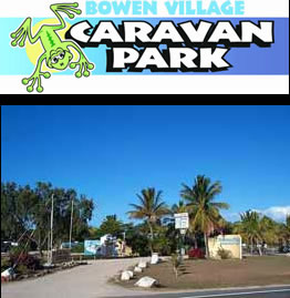 Bowen Village Caravan & Tourist Park Logo and Images