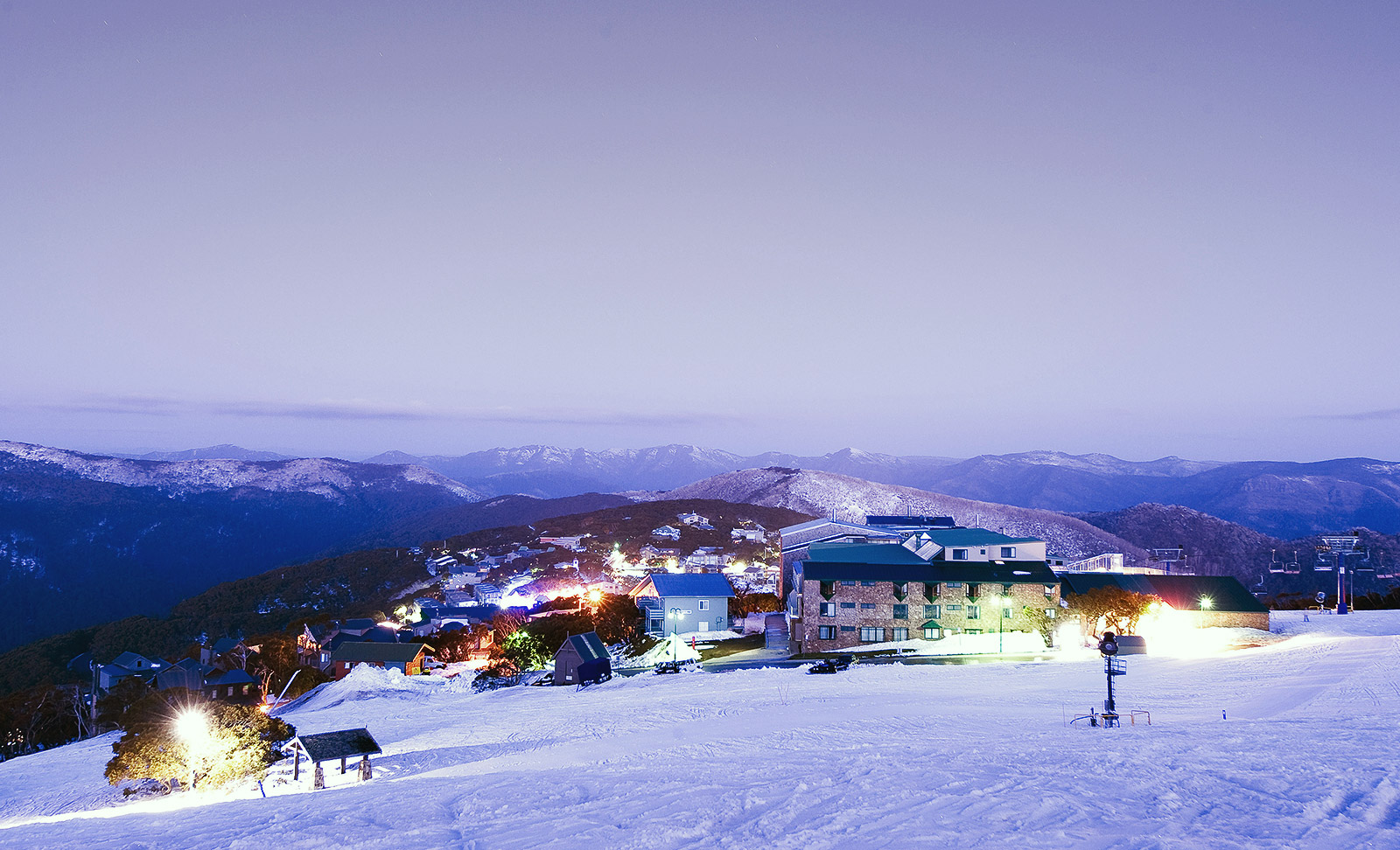 Arlberg Hotel Mt Buller Logo and Images