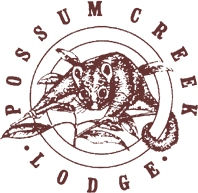 Possum Creek Lodge Logo and Images