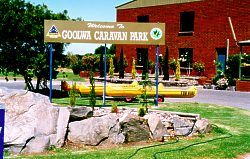 Goolwa Caravan Park Logo and Images