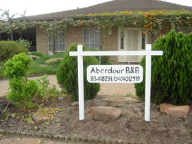 Aberdour Bed and Breakfast Logo and Images