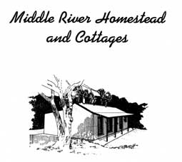 Middle River Homestead & Cottages Logo and Images
