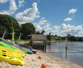 Maroochy River Resort and Bungalows Logo and Images