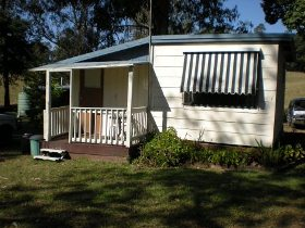 Cambroon Caravan Park Logo and Images