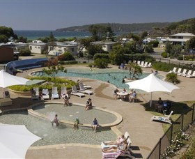 Discovery Holiday Park Pambula Beach Logo and Images