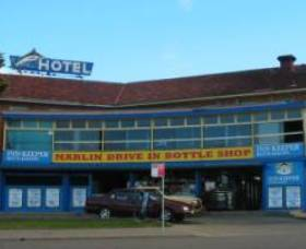 Marlin Hotel Logo and Images