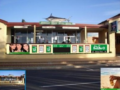 Bermagui Beach Hotel Motel Logo and Images