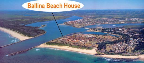 Ballina Beach House Logo and Images