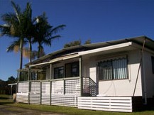 Fishing Haven Caravan Park Logo and Images