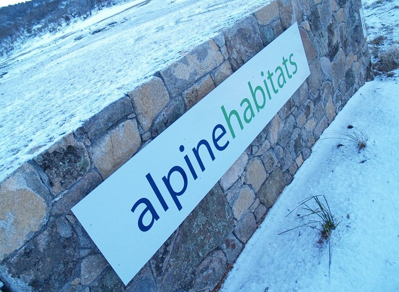 Alpine Habitats Logo and Images