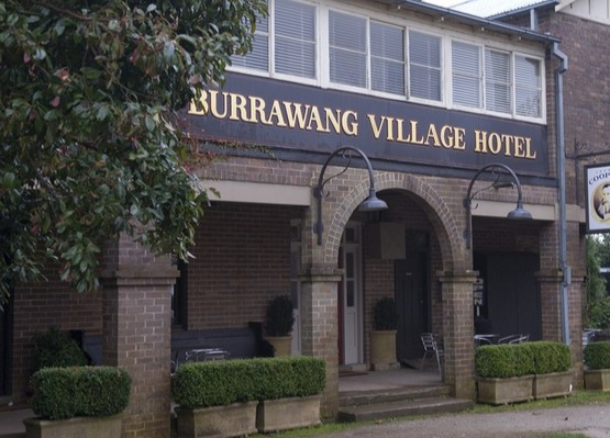 Burrawang Village Hotel Logo and Images