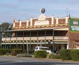 Commercial Hotel Barellan Logo and Images