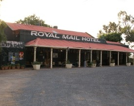 Royal Mail Hotel Booroorban Logo and Images