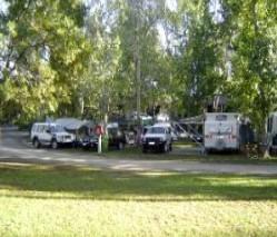Corowa Caravan Park Logo and Images