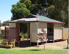 Narrandera Caravan Park Logo and Images