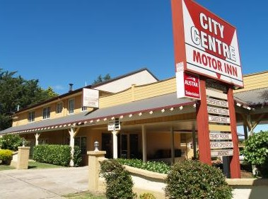 City Centre Motor Inn Logo and Images