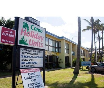 Como Holiday Apartments and Tropical Nites Motel Logo and Images