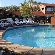 Hervey Bay Colonial Lodge Logo and Images
