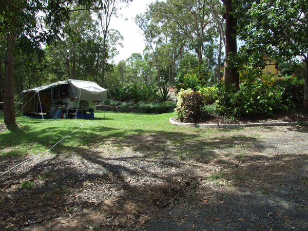 Burrum River Caravan Park Logo and Images