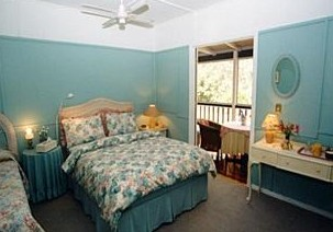Baggs of Canungra Bed and Breakfast Logo and Images