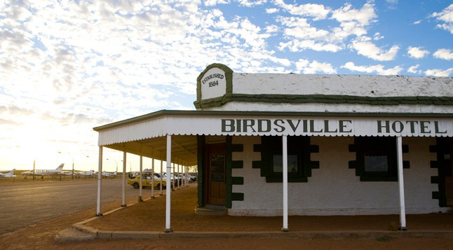Birdsville Hotel - The Outback Loop Logo and Images