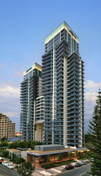 Meriton Serviced Apartments - Broadbeach Logo and Images