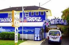 Backpackers In Paradise Logo and Images