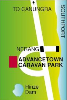 Advancetown Caravan Park Logo and Images