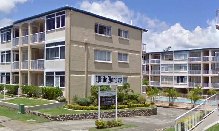 White Horses Apartments Logo and Images