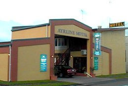 Ayrline Motel Logo and Images
