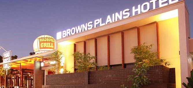 Browns Plains Hotel Logo and Images
