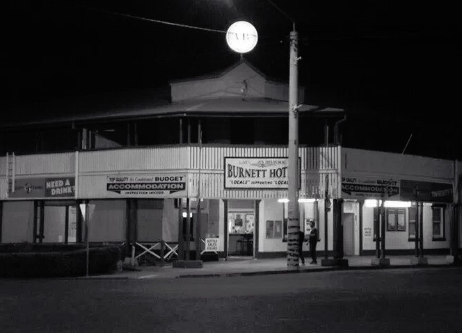 Burnett Hotel Logo and Images