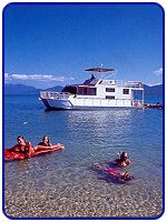 Hinchinbrook Rent A Yacht And House Boat Logo and Images