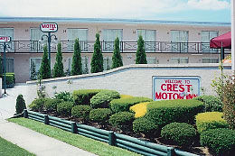 Crest Motor Inn Logo and Images