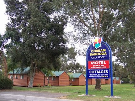 Cobram Barooga Golf Resort Logo and Images